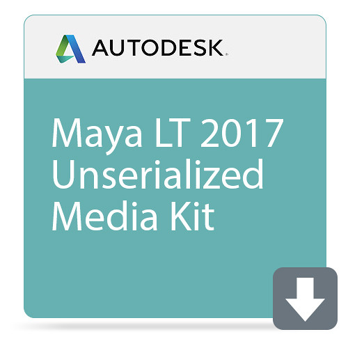 Autodesk Maya LT 2017 Unserialized Media Kit