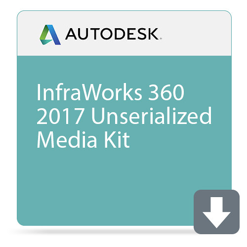 Autodesk InfraWorks 360 2017 Unserialized Media Kit