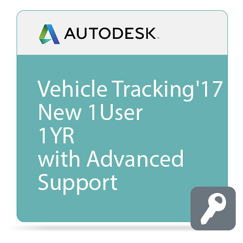 Autodesk Vehicle Tracking 2017 Commercial New Single-user ELD Annual Subscription - Advanced Support