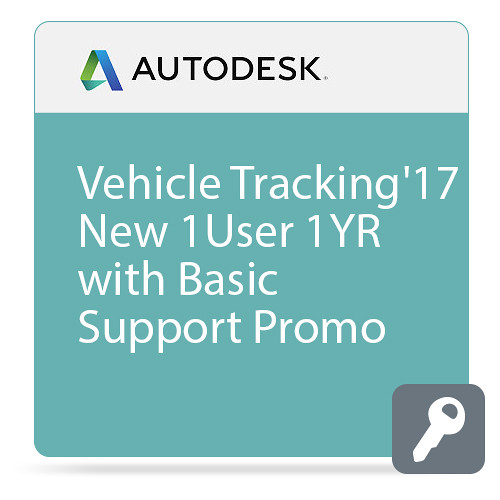 Autodesk Vehicle Tracking 2017 Commercial New Single-user ELD Annual Subscription - Basic Support - PROMO