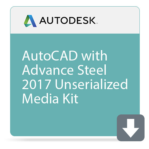 Autodesk AutoCAD with Advance Steel 2017 Unserialized Media Kit