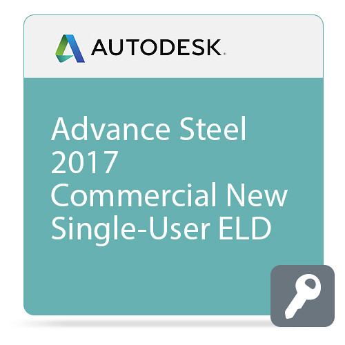 Autodesk Advance Steel 2017 Commercial Crossgrade from Current Version ELD