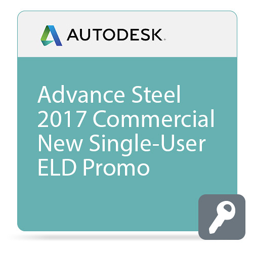 Autodesk Advance Steel 2017 Commercial New Single-user ELD - PROMO