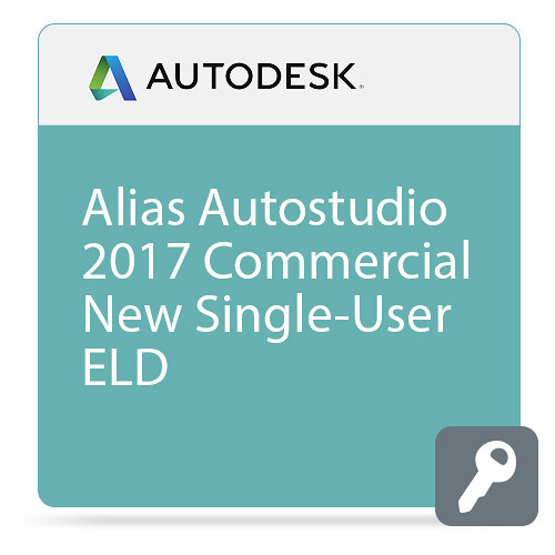 Autodesk Alias Autostudio 2017 Commercial New Single-User ELD