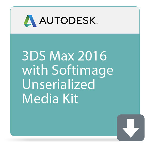 Autodesk 3ds Max 2016 with Softimage Unserialized Media Kit