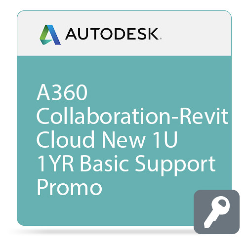 Autodesk A360 Collaboration-Revit Cloud Commercial New Single-user Annual Subscription with Basic Support - Promo