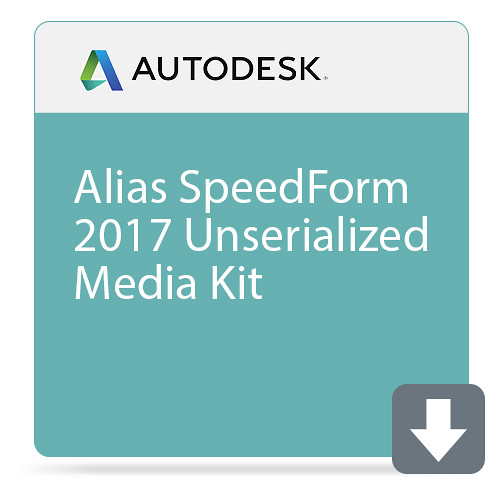 Autodesk Alias SpeedForm 2017 Unserialized Media Kit