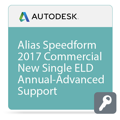 Autodesk Alias SpeedForm 2017 with Advanced Support (1-Year Subscription, Download)