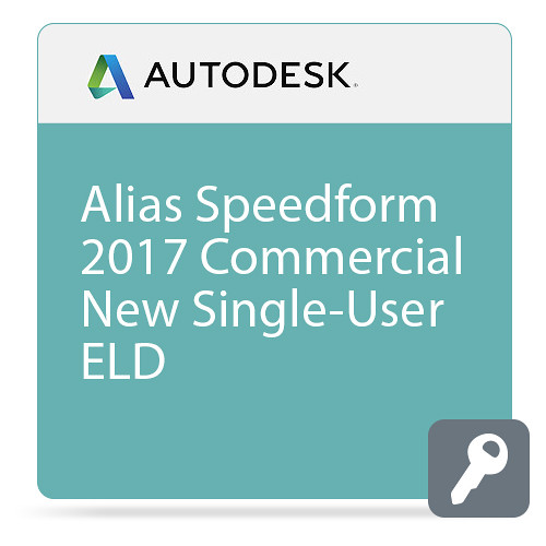 Autodesk Alias SpeedForm 2017 Commercial New Single-user ELD