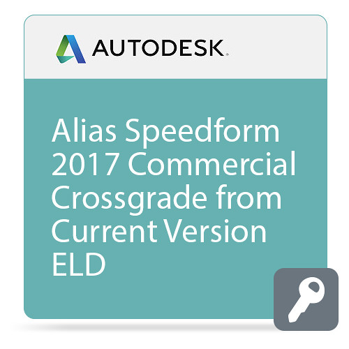 Autodesk Alias SpeedForm 2017 Commercial Crossgrade from Current Version ELD