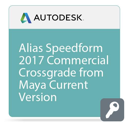 Autodesk Alias SpeedForm 2017 Commercial Crossgrade from Maya Current Version ELD