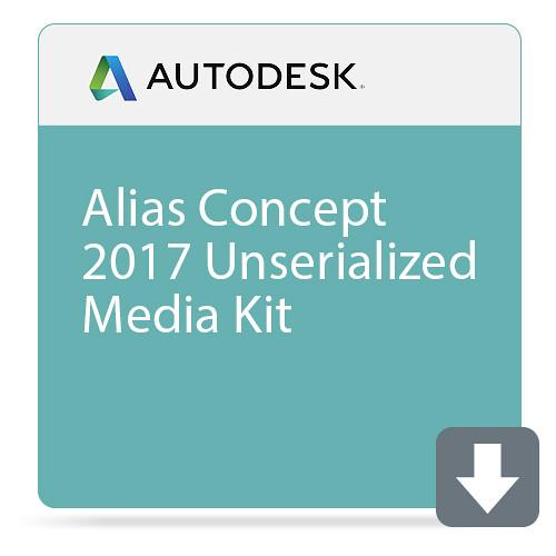 Autodesk Alias Concept 2017 Unserialized Media Kit