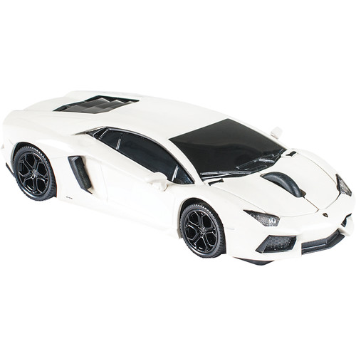 Automouse Lamborghini Aventador 2.4 GHz Wireless Mouse (White)