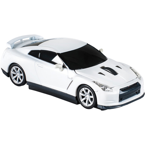 Automouse Nissan GTR (R35) 2.4 GHz Wireless Mouse (White)