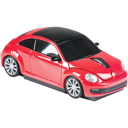 Automouse VW The Beetle 2.4 GHz Wireless Mouse (Red)