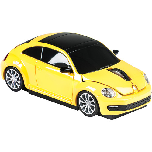 Automouse VW The Beetle 2.4 GHz Wireless Mouse (Yellow)