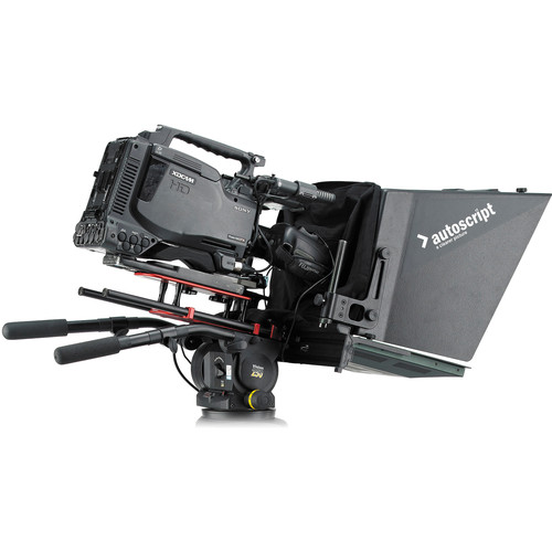 """Autoscript ELP15PLUS-S 15"""" On Camera Prompter with Molded Plastic Hood"""