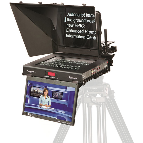"Autoscript E.P.I.C 19"" Dual Monitor Teleprompter System"