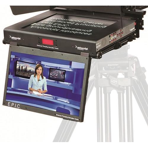 "Autoscript E.P.I.C 19"" Dual Monitor Teleprompter Screen"