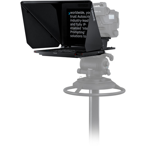 """Autoscript EVO-IP On-Camera Package with 17"""" Prompt Monitor and VITC/D-VITC Input"""