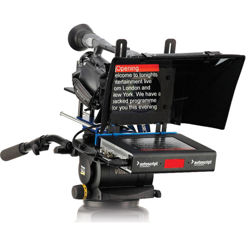 "Autoscript 8"" High Brightness LED On-Camera Teleprompter"