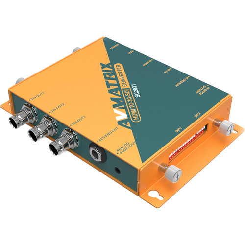 AV Matrix SC2031 HDMI/AV to 3G-SDI Scaling Converter
