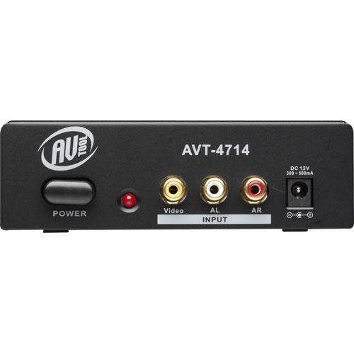 AV Toolbox AVT-4714 Composite & Stereo Audio Distribution Amplifier