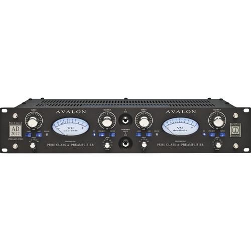 Avalon Design AD2022 Dual Mono Pure Class A Preamplifier (Black)