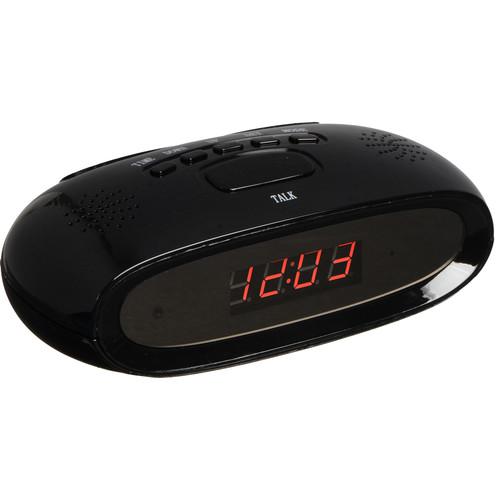 Avangard Optics HDC68 Alarm Clock with 1080p Covert Camera