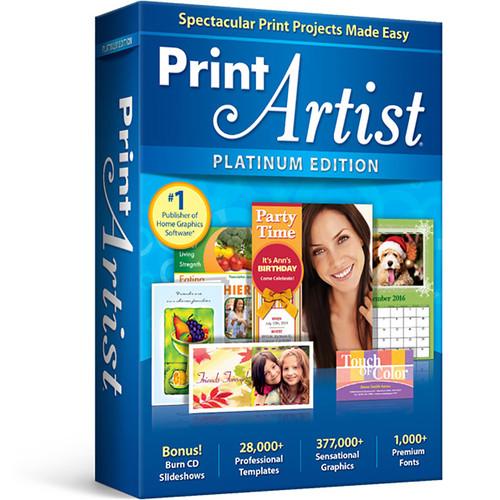 Avanquest Print Artist Platinum (Version 25, Download)
