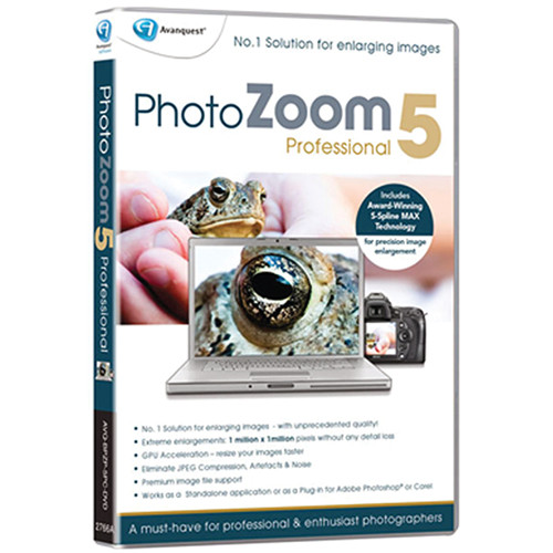 Avanquest PhotoZoom Pro 5 for Mac