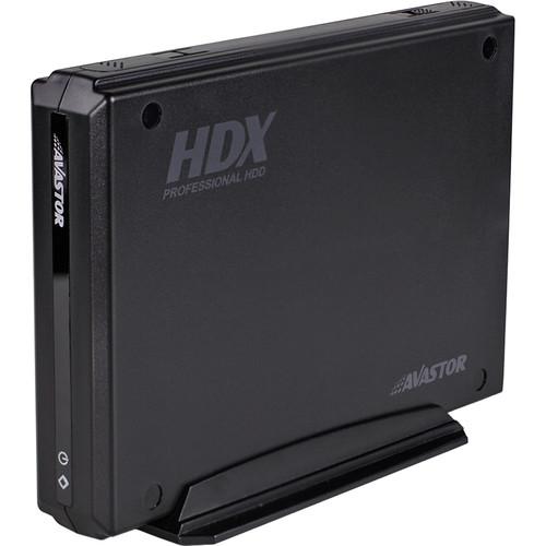 Avastor 12TB HDX 1500 Series External HDD with LockBox