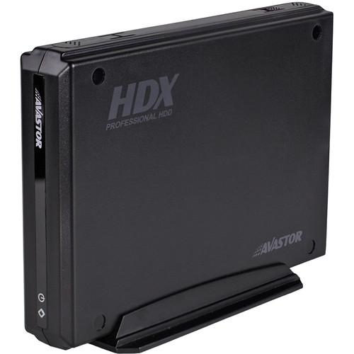 Avastor HDX-1500 1TB SSD USB 3.1/FW400/FW800/eSATA (Retail Box)