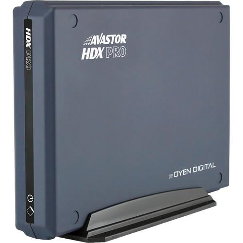 Avastor 12TB HDX Pro USB Type-C External Hard Drive with LockBox