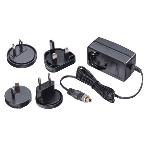 Avenview International Power Supply with EU, UK, & US Plugs (24V, 1.25A)