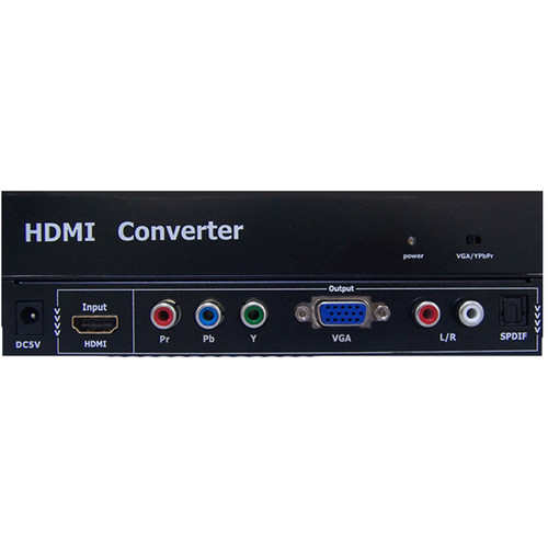Avenview HDMI to Component/VGA with Audio Converter