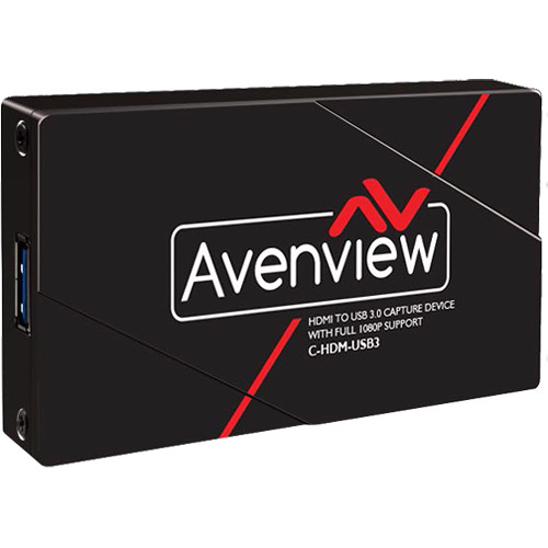 Avenview HDMI to USB 3.0 Capture with Full HD 1080p Support