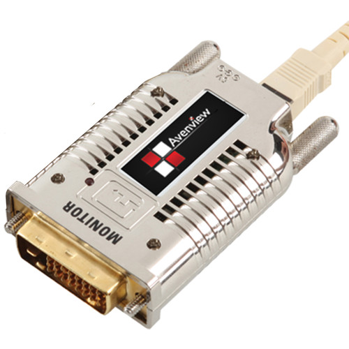 Avenview DVI Extender over Fiber with EMI Shielding (3300', Receiver)
