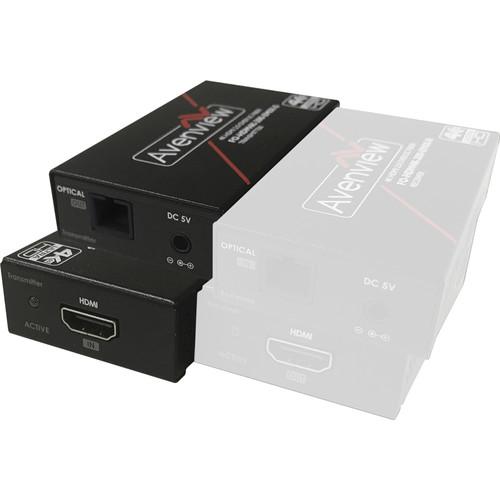 Avenview 4K HDR HDMI TX Single SC Fiber Optic Cable