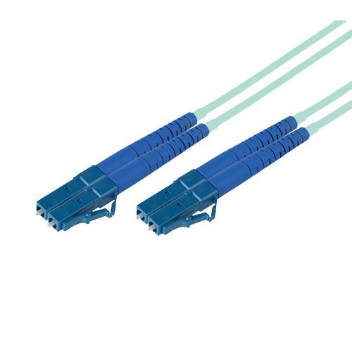 Avenview 50/125µm Fiber Optic Multimode Duplex LC to LC 10Gb OM3 Cable (49')