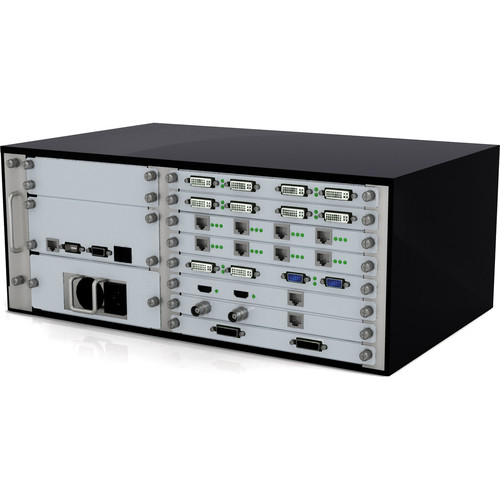 Avenview AVXWALL Modular 4K Video Wall Controller Chassis with 4 x 12 1080p HDMI I/O Cards