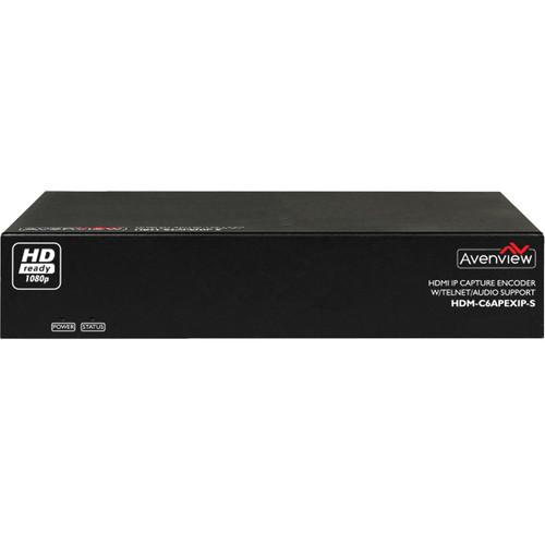 Avenview HDMI IP Capture Decoder/Encoder Set with Telnet & Audio Support