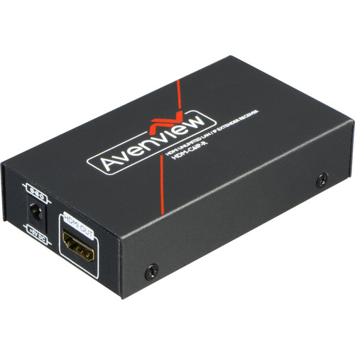 Avenview HDMI Unlimited LAN Receiver over Single CAT6