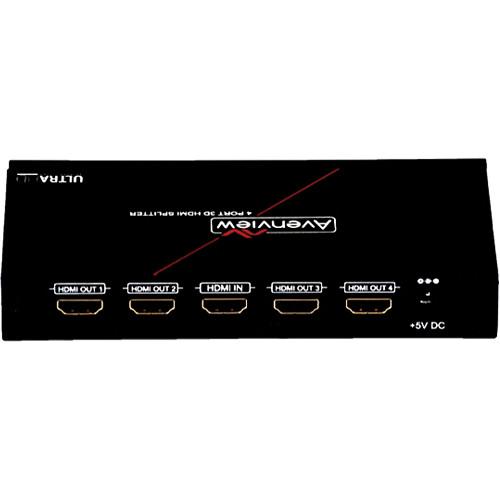 Avenview 1 x 4 HDMI 4K2K Splitter
