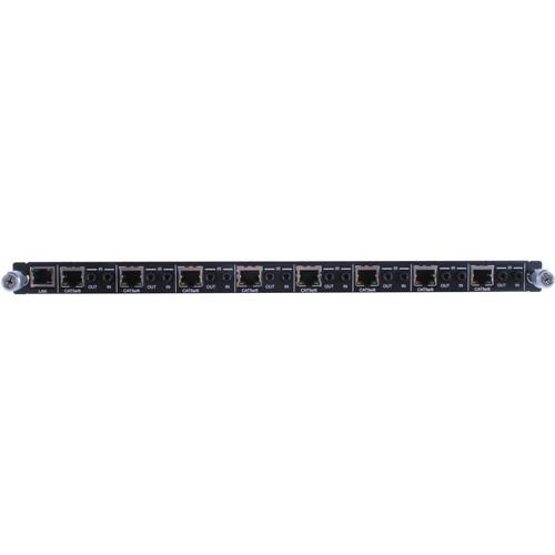 Avenview HDBaseT Modular Matrix 8-Port 4K 5-Play HDBaseT/PoE/IR/RS232/Ethernet Output Card
