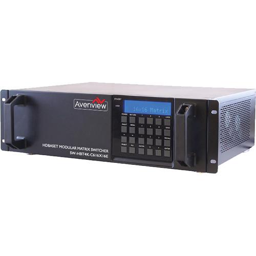 Avenview SW-HBT4K-C6-16X16E HDMI HDBT 4K Matrix Switcher
