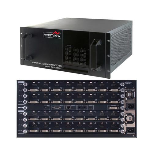 Avenview 32 x 32 HDBaseT, HDMI, DVI, and VGA Custom Modular Chassis