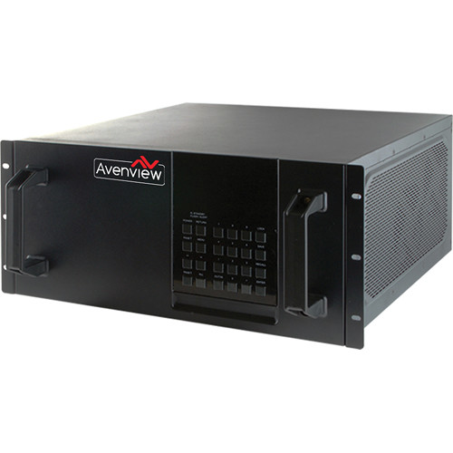 Avenview HDBaseT Modular Matrix with 32 DVI Inputs/32 HDMI Outputs