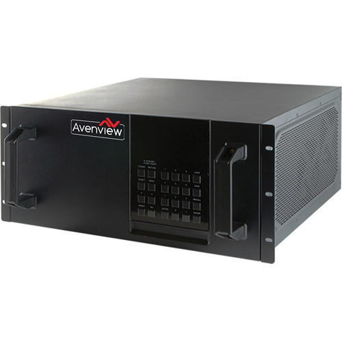 Avenview HDBaseT Modular Matrix with 32 HDMI Inputs/32 DVI Outputs
