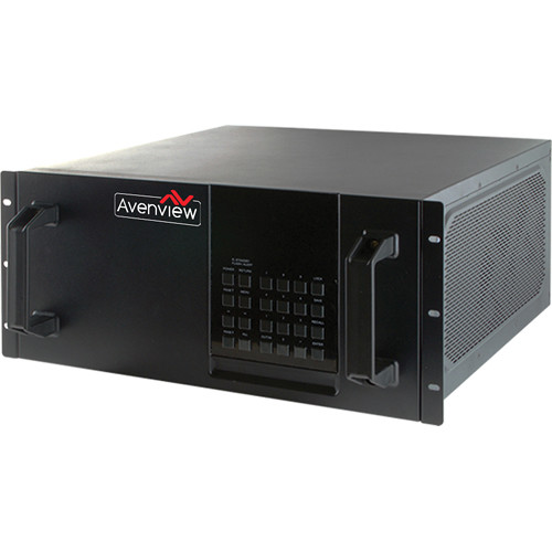 Avenview HDBaseT Modular Matrix with 32 HDMI Inputs/32 HDMI Outputs